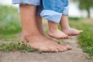 Il grounding: avere i piedi per terra.